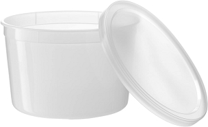 64 oz. Plastic Container with Cover